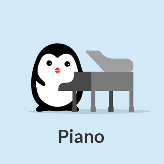 Piano 7 Notes Music School