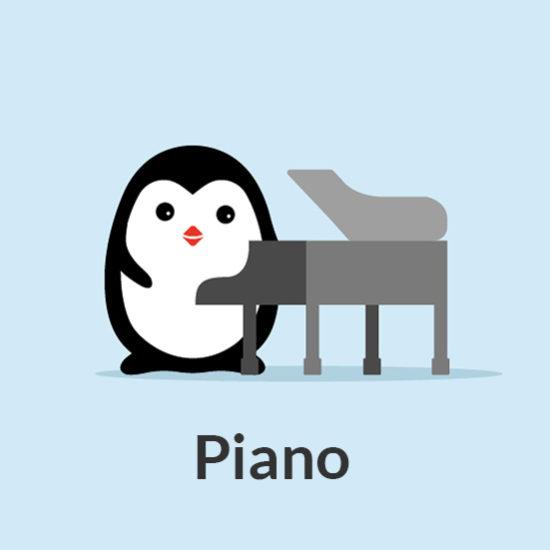 Piano 7 Notes Music School