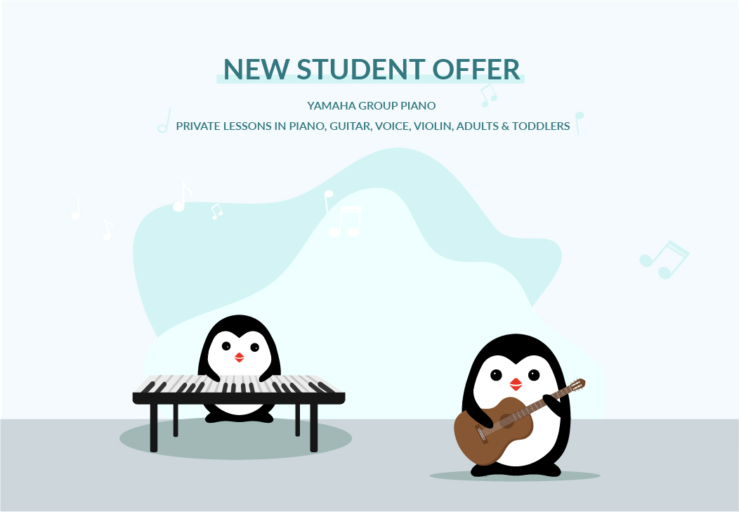 New Student Offer 7 Notes Music School