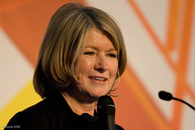 Martha Stewart Female Entrepreneur