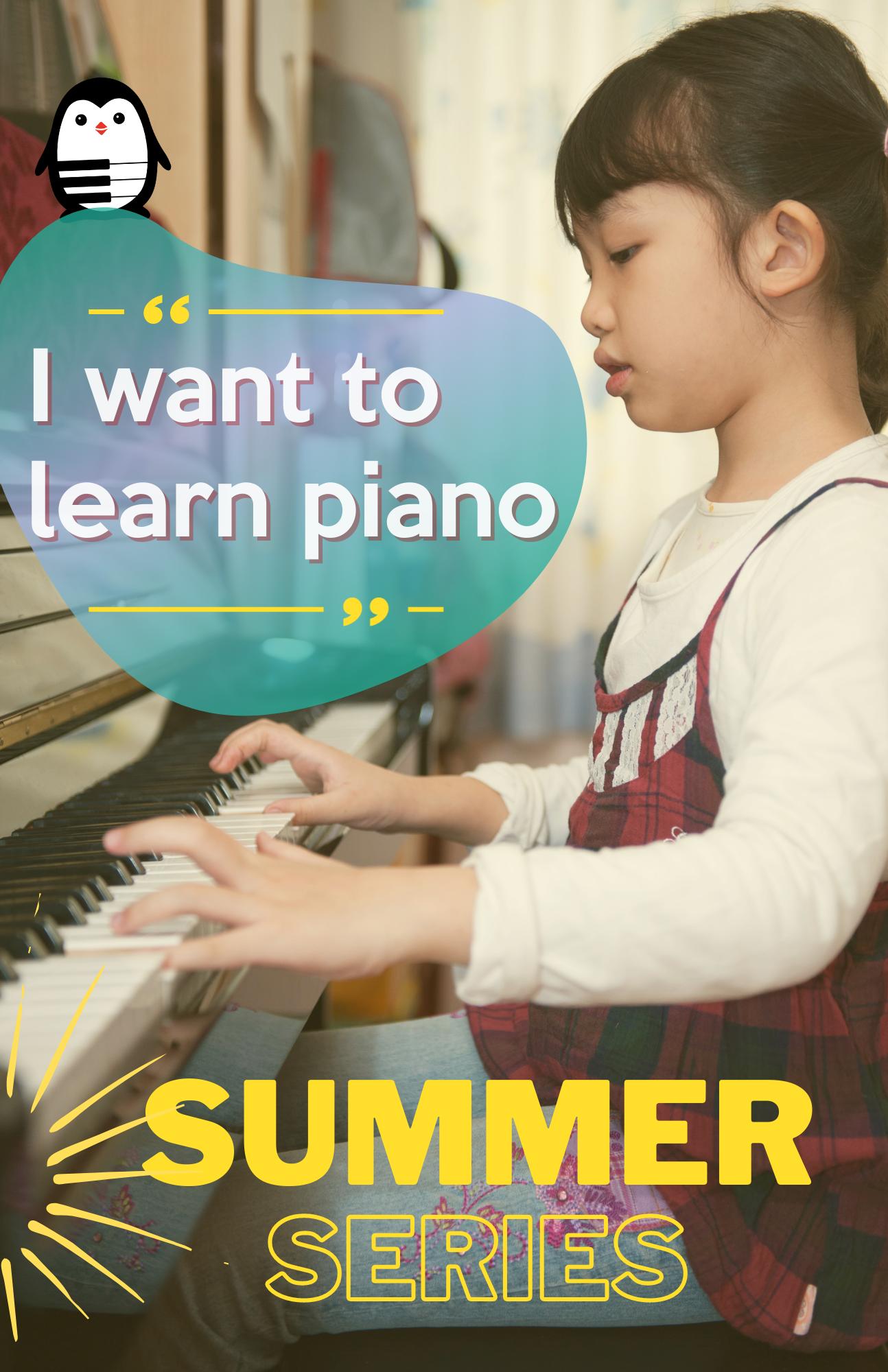 Summer Piano Lessons in Frisco Plano